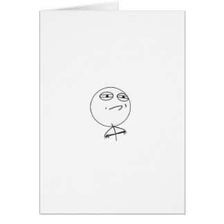 Challange Accepted Paper Collection Greeting Card