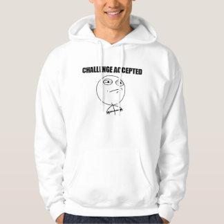 Challenge Accepted Hooded Sweatshirts