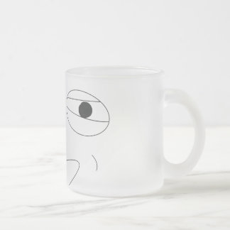Challenge Accepted Mug! Frosted Glass Mug