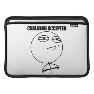 Challenge Accepted Sleeve For MacBook Air