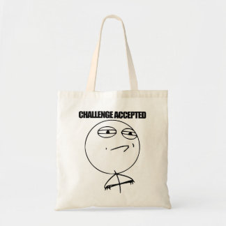 Challenge Accepted Tote Bag