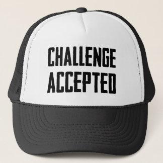 Challenge Accepted Trucker Hat