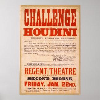 Challenge Houdini Poster