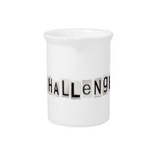 Challenge word concept. pitcher