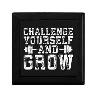 Challenge Yourself and Grow - Inspirational Gift Box