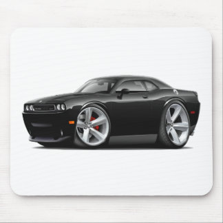 Challenger SRT8 Black Car Mouse Pad