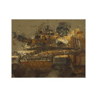 Challenger Tank Canvas Print