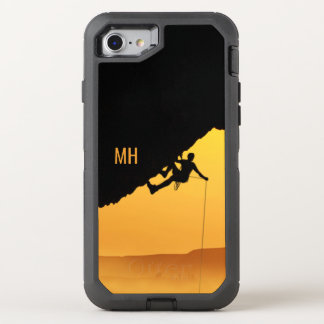 """CHALLENGES"" custom monogram phone cases"