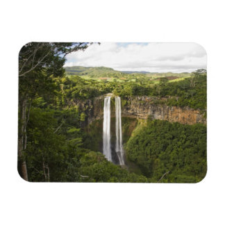 Chamarel Waterfall-highest on Mauritius, over 2 Rectangular Photo Magnet