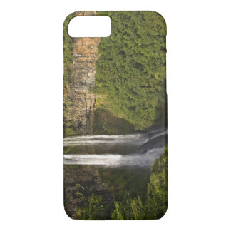 Chamarel Waterfall-highest on Mauritius, over iPhone 7 Case