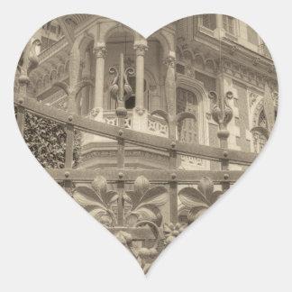 Chamas Villa Final Heart Sticker
