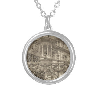 Chamas Villa Final Silver Plated Necklace