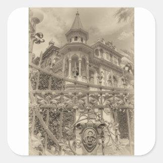 Chamas Villa Final Square Sticker