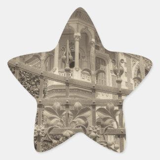 Chamas Villa Final Star Sticker