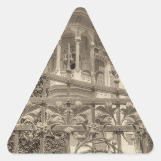 Chamas Villa Final Triangle Sticker