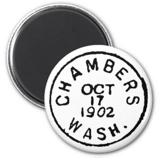 Chambers Ghostmark 6 Cm Round Magnet