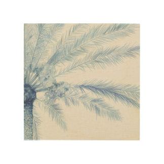 Chambray Palms II Wood Wall Art