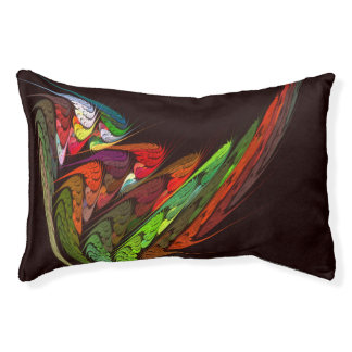 Chameleon Abstract Art Pet Bed