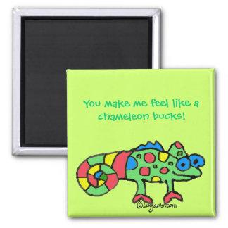 Chameleon Bucks Magnet