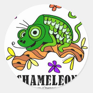 Chameleon by Lorenzo © 2018 Lorenzo Traverso Classic Round Sticker