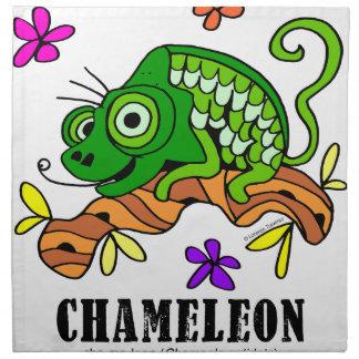 Chameleon by Lorenzo © 2018 Lorenzo Traverso Napkin