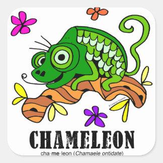 Chameleon by Lorenzo © 2018 Lorenzo Traverso Square Sticker