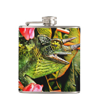Chameleon Charisma Flask