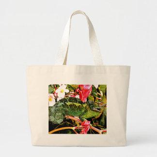 Chameleon Charisma Large Tote Bag