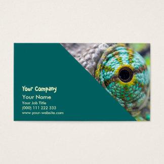 Chameleon eye business card