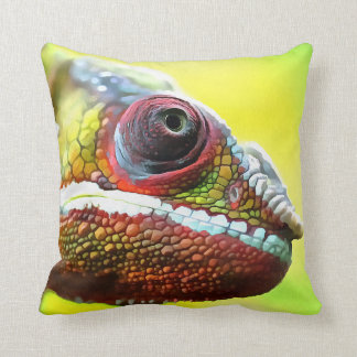 Chameleon Face Cushion