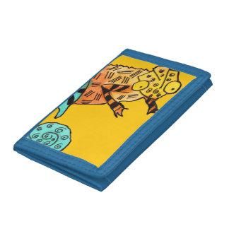 Chameleon ink Yellow kid's wallet