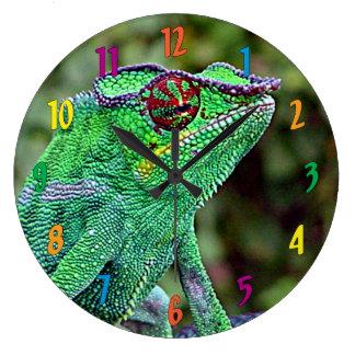 Chameleon Large Clock
