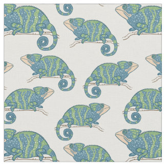 Chameleon Pattern Fabric