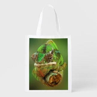 Chameleon Photo Reusable Grocery Bag