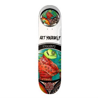 Chameleon Sentry 21.3 Cm Mini Skateboard Deck
