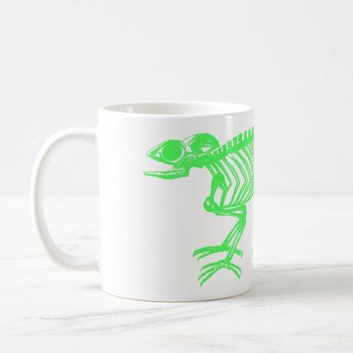 Chameleon Skeleton Mugs