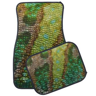 Chameleon Skin Texture Template Car Mat