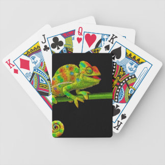 Chameleons Bicycle Playing Cards