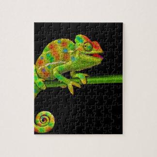 Chameleons Jigsaw Puzzle