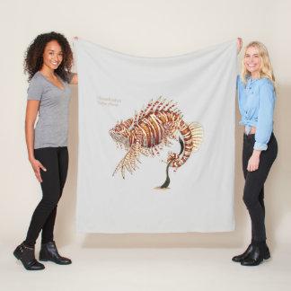 Chamelionfish Fantasy Animal Fleece Blanket