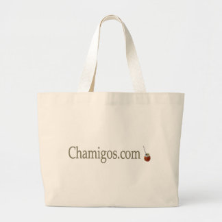 Chamigos.com stock market large tote bag