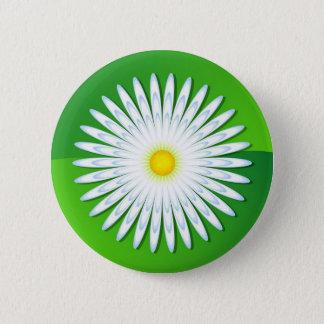 Chamomile 6 Cm Round Badge