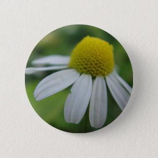 Chamomile bloom 6 cm round badge