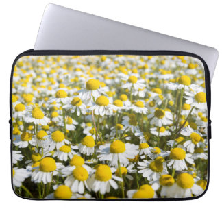 Chamomile Field, Hungary Laptop Computer Sleeves