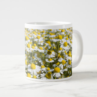 Chamomile Field, Hungary Large Coffee Mug