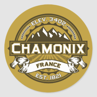 Chamonix Color Logo Sticker