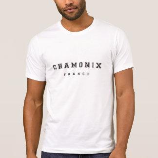 Chamonix France Tshirt