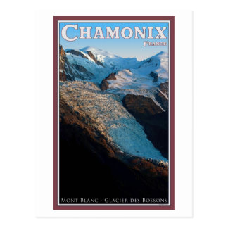 Chamonix - Glacier des Bossons Postcard