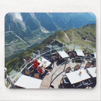 Chamonix in the valley, French Alps Mouse Pad