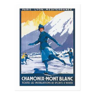 Chamonix Mont Blanc Postcard